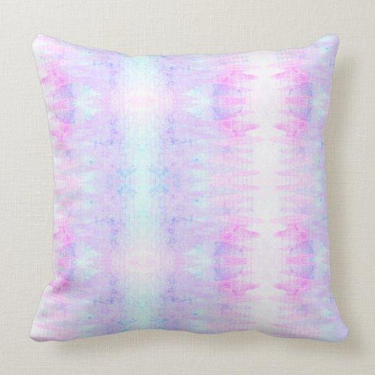 La acuarela Boho de la lavanda alinea púrpura Cojín Decorativo