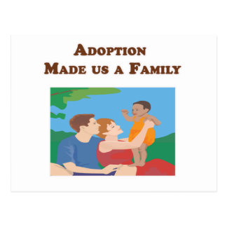 La adopción nos hizo a una familia postal