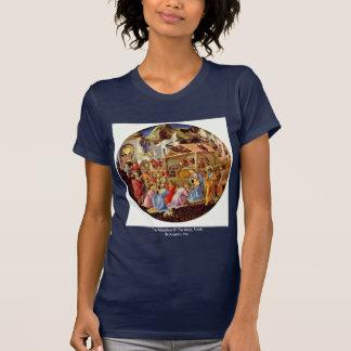La adoración de unos de los reyes magos, Tondo por Camisetas