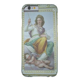 La alegoría de la castidad (fresco) funda de iPhone 6 barely there