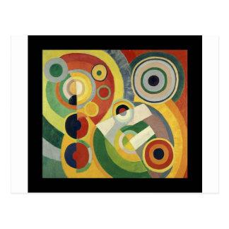 La alegría de la vida de Roberto Delaunay Postal