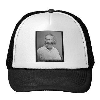 La alegría de Walt Whitman con usted ama las camis Gorra