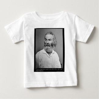 La alegría de Walt Whitman con usted ama las Camiseta De Bebé