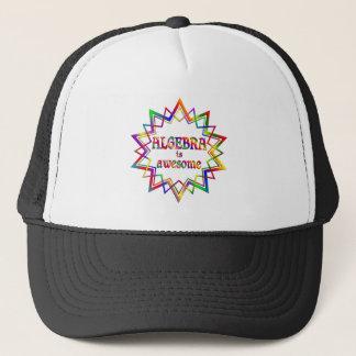 La álgebra es impresionante gorra de camionero