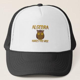 La álgebra le hace sabio gorra de camionero