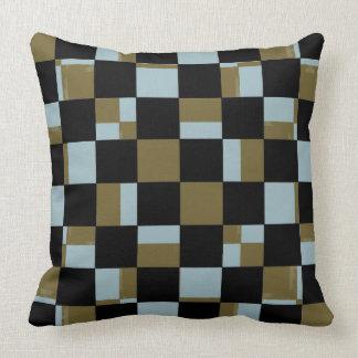 La almohada de la decoración colorea el tablero de