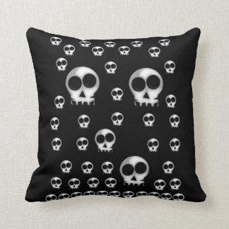 la almohada de tiro elimina el núcleo hallowen