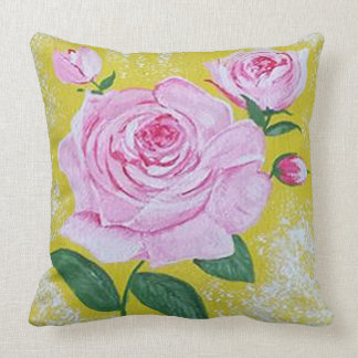La almohada grande color de rosa