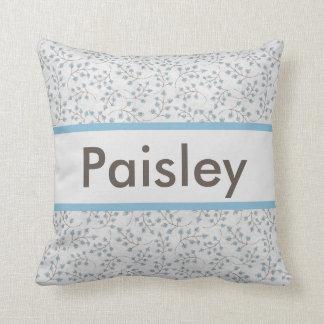 La almohada personalizada de Paisley