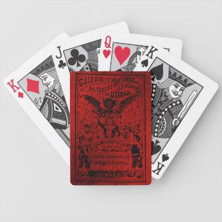La Almoned del Diablo de José Guadalupe Posada Cartas De Juego