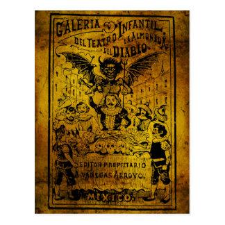 La Almoned del Diablo de José Guadalupe Posada Postal