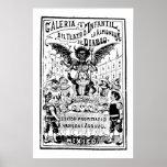 La Almoned del Diablo de José Guadalupe Posada Poster