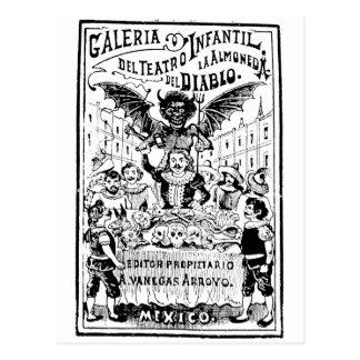 La Almoned del Diablo de José Guadalupe Postales