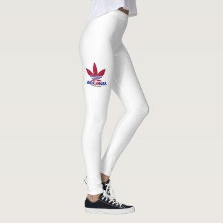 La alta velocidad resuelve las polainas leggings