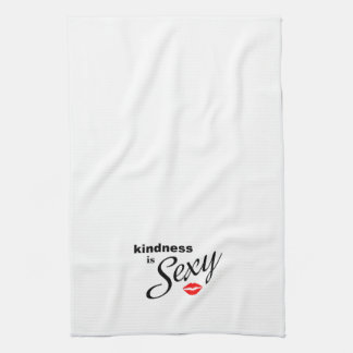 La amabilidad es toalla de cocina atractiva