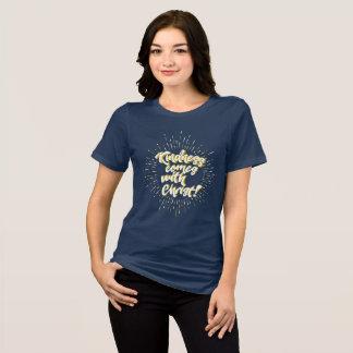 La amabilidad viene con Cristo Camiseta