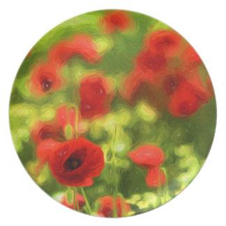 La amapola maravillosa florece VI - Wundervolle Plato