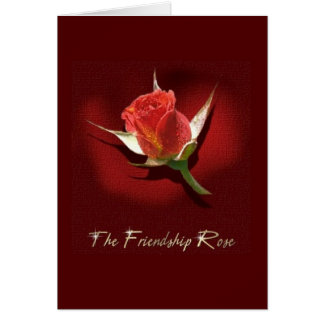 La amistad subió tarjeta de felicitación