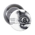 La anatomía del gris - globo del ojo pin