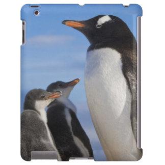 La Antártida, ensenada de Neko (puerto). Pingüino  Funda Para iPad