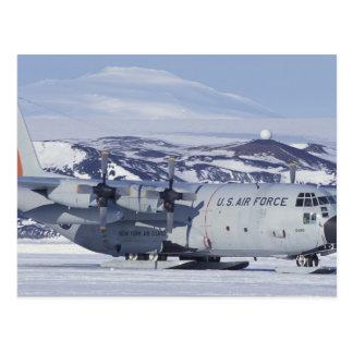 La Antártida, isla de Ross, estación de McMurdo, Postal