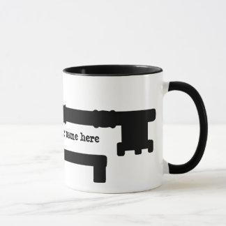 La antigüedad cierra lindo taza