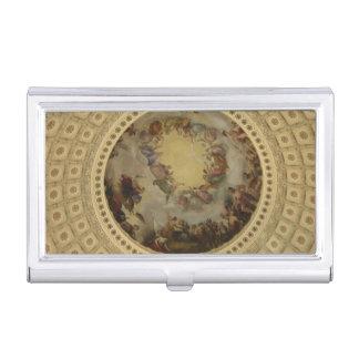 La apoteosis del capitolio de Washington de la Caja De Tarjetas De Visita