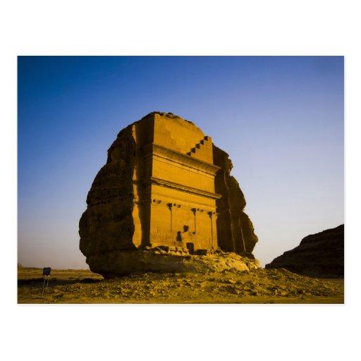La Arabia Saudita, sitio de Madain Saleh, 4 antigu Postales
