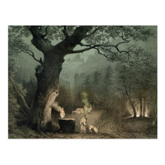 La arboleda sagrada de los druidas postal