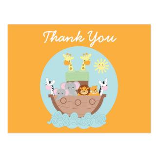 La arca de Noah le agradece postal