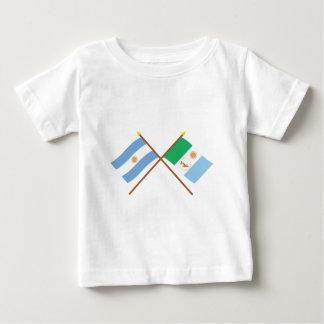 La Argentina y banderas cruzadas Chaco Camiseta