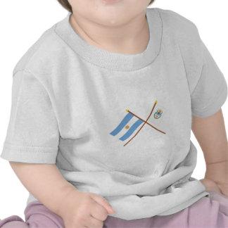 La Argentina y banderas cruzadas Jujuy Camisetas
