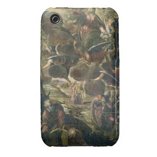 La ascensión de Cristo (fresco) Case-Mate iPhone 3 Funda