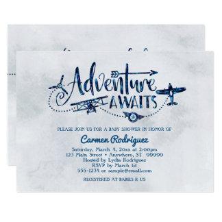 """La """"aventura aguarda"""" la invitación de la fiesta"""