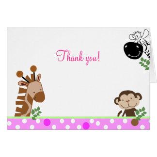 La aventura de la selva (rosa) doblada le agradece tarjeta pequeña