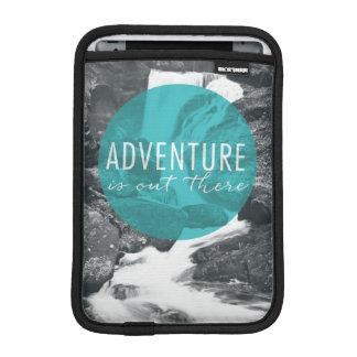 La aventura de los ríos el   está hacia fuera allí funda para iPad mini