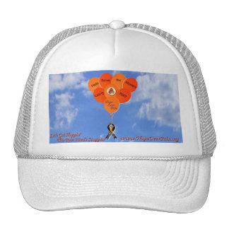 La ayuda del cielo azul soluciona los globos del m gorras de camionero