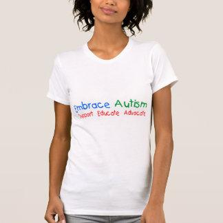 La ayuda educa al abogado camiseta