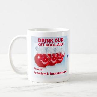 La ayuda y nadie de OIT Kool pueden dañar mi niño Taza De Café