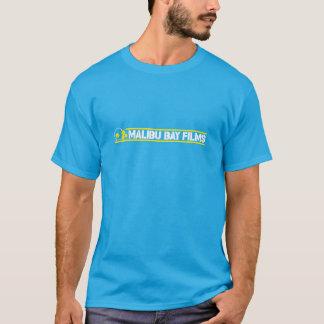 La bahía de Malibu filma la camiseta - azul de
