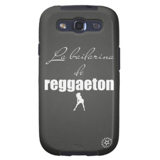 La Bailarina del Reggaeton Galaxy S3 Cárcasa