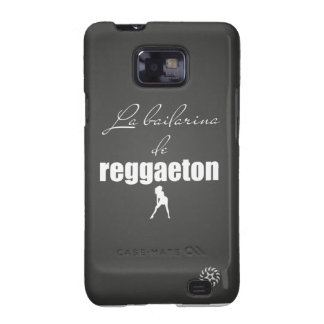 La Bailarina del Reggaeton Galaxy S2 Carcasa