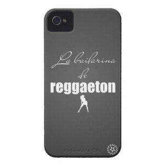 La bailarina del reggaeton iPhone 4 fundas