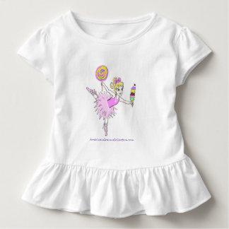 La bailarina puede ser modificada para requisitos camiseta de bebé