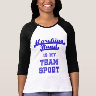 La banda es mi camisa de deporte de equipo
