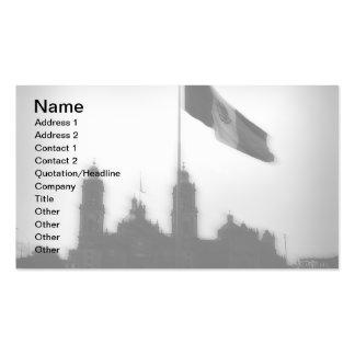 La Bandera 10 de la estafa del EL Zocalo del DF Tarjetas De Visita