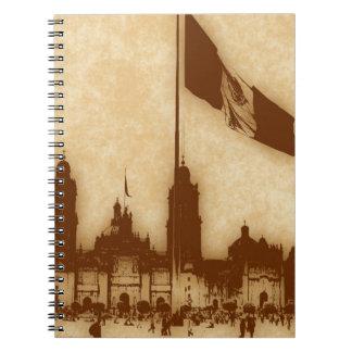 La Bandera 11 de la estafa del EL Zocalo del DF de Cuadernos
