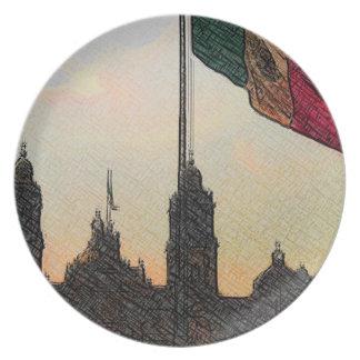 La Bandera 2.jpg de la estafa del EL Zocalo del DF Platos