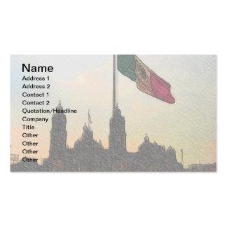 La Bandera 2.jpg de la estafa del EL Zocalo del DF Tarjetas De Visita