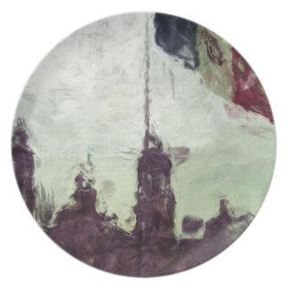 La Bandera 3 de la estafa del EL Zocalo del DF del Platos